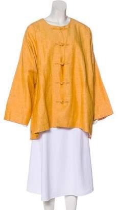 eskandar Lightweight Button-Up Coat w/ Tags