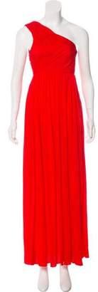Tibi One-Shoulder Maxi Dress