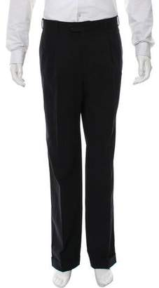 Cerruti Plaid Pleated Pants