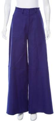 Rosie Assoulin High-Rise Wide-Leg Pants