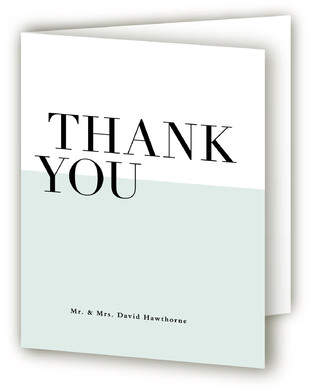 So Fresh Thank You Cards