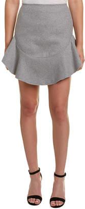 Finders Keepers Seidler Wool-Blend Skirt