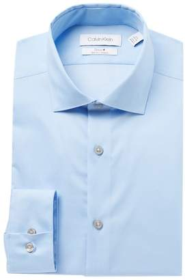 Calvin Klein Slim Fit Stretch Steel+ Dress Shirt