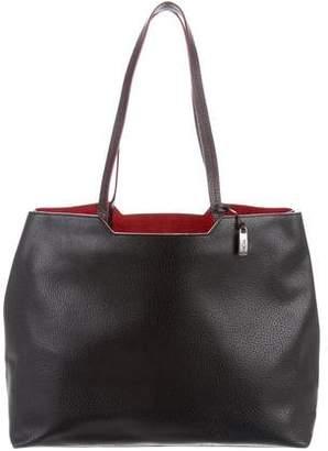 Tumi Textured Leather Shoulder Bag