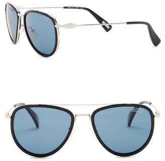 Lanvin 53mm Aviator Sunglasses