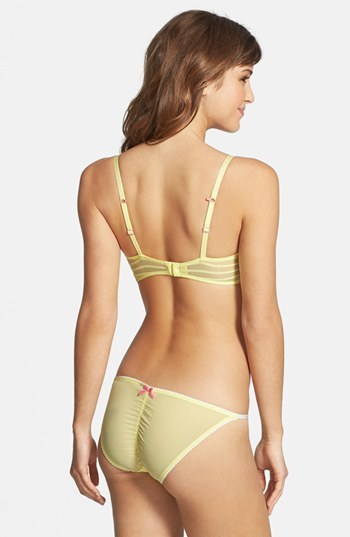 Betsey Johnson Stretch Knit String Bikini
