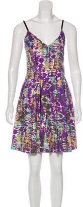 Rachel Comey Printed Silk Dress