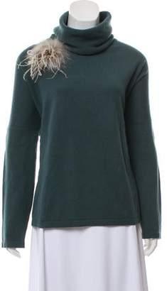 Fabiana Filippi Cashmere Turtleneck Sweater