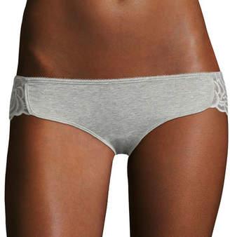 Flirtitude Lace-Trim Dolphin Bikini Panties