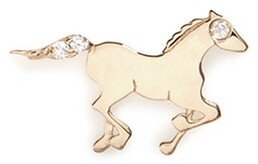 Loquet London 18K YELLOW GOLD DIAMOND CHINESE NEW YEAR CHARM - HORSE