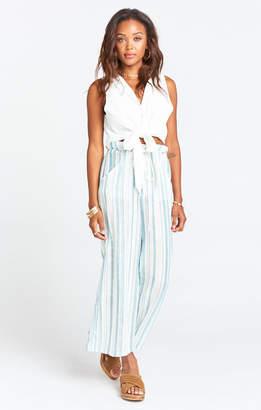 Show Me Your Mumu Peterson Pants ~ Point Dume Stripe