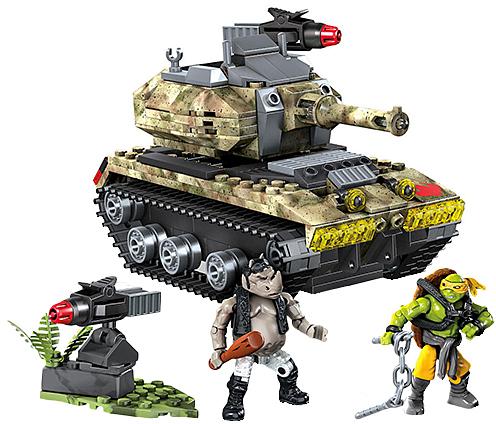 TMNT Mega Bloks Jungle Takedown Set