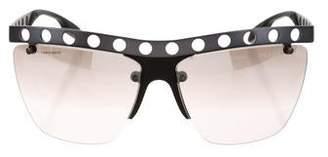 Prada Oversize Gradient Sunglasses w/ Tags