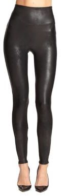 Spanx Faux Leather Shaping Leggings $98 thestylecure.com