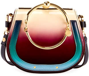 Chloé Nile Small Color Shading Satchel Bag