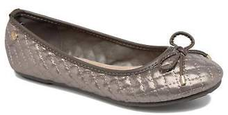 Xti Kids's Rounded toe Ballet Pumps in Grey - Synthetic - UK 12.5 Kids / EU 31