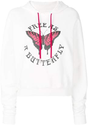 Off-White butterfly hoodie
