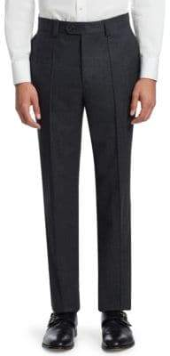 Brunello Cucinelli Front Crease Wool Pants