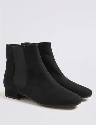 Marks and Spencer Block Heel Ankle Boots (13 Small - 6 Large)