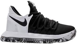 Nike KD 10 Black White (GS)
