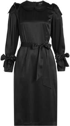 Simone Rocha Bow Sleeve Silk Dress