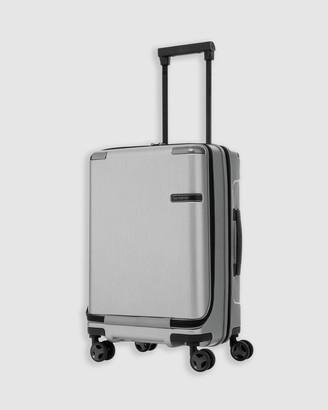Samsonite Evoa Spinner 55cm Front Pocket Suitcase