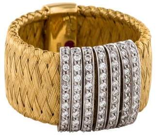 Roberto Coin 18K Diamond Primavera Ring