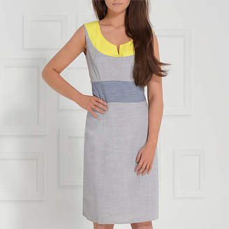 LAGOM Modena Colourblock Sheath Dress