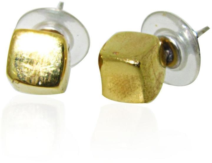 Maya Magal Cube Stud Earrings