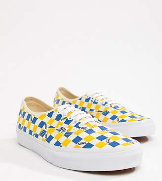 97e45493f9 Vans Factory Pack Authentic trainers in yellow Exclusive at ASOS