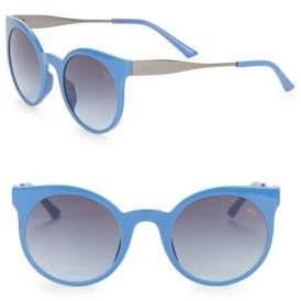 Puma 52MM Round Sunglasses