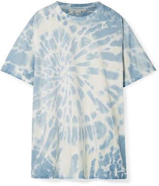 Stella McCartney Oversized Tie-dye Cotton-jersey T-shirt - Blue