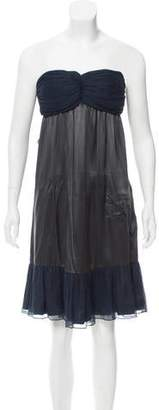 Sophie Theallet Strapless Gathered Dress