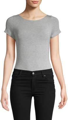 Felina Boatneck Crisscross Bodysuit