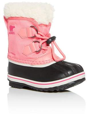 Sorel Girls' Yoot Pac Waterproof Cold Weather Boots - Toddler