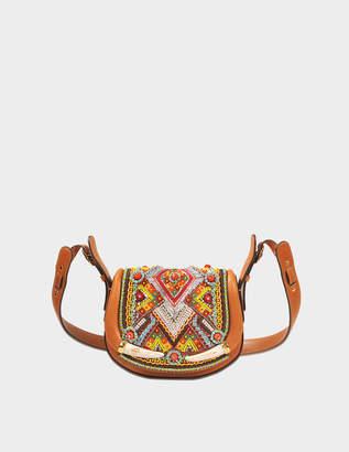 Roberto Cavalli Horn Shoulder bag