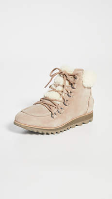Sorel Harlow Cozy laceup Booties