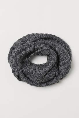 H&M Wool-blend Tube Scarf - Gray