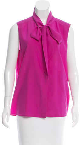 CelineCéline Silk Sleeveless Top