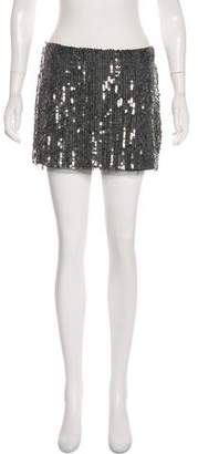 Gryphon Sequin Mini Skirt