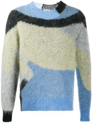 Ambush colour-block jumper