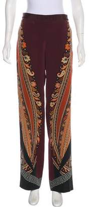 Etro Printed Wide-Leg Pants