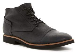 Walk-Over Spencer Black F/G Leather Chukka Boot