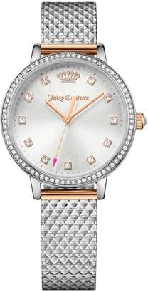 Juicy Couture Silver Socialite Watch