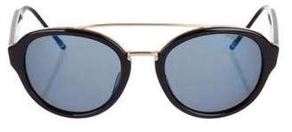 Thom Browne Tinted Round Sunglasses