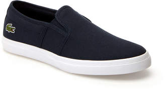 Lacoste Womens Gazon BL Canvas Slip-ons