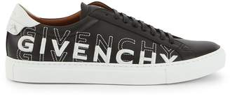 Givenchy Low trainers in leather, with gradient-effect name