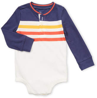 Osh Kosh B'gosh (Infant Boys) Stripe Henley Bodysuit