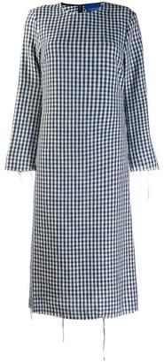Simon Miller checkered midi dress