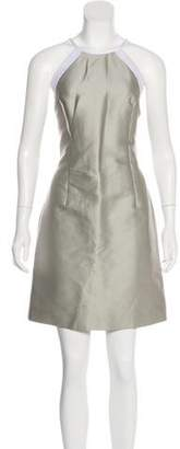 Jonathan Saunders Knee-Length Halter Dress